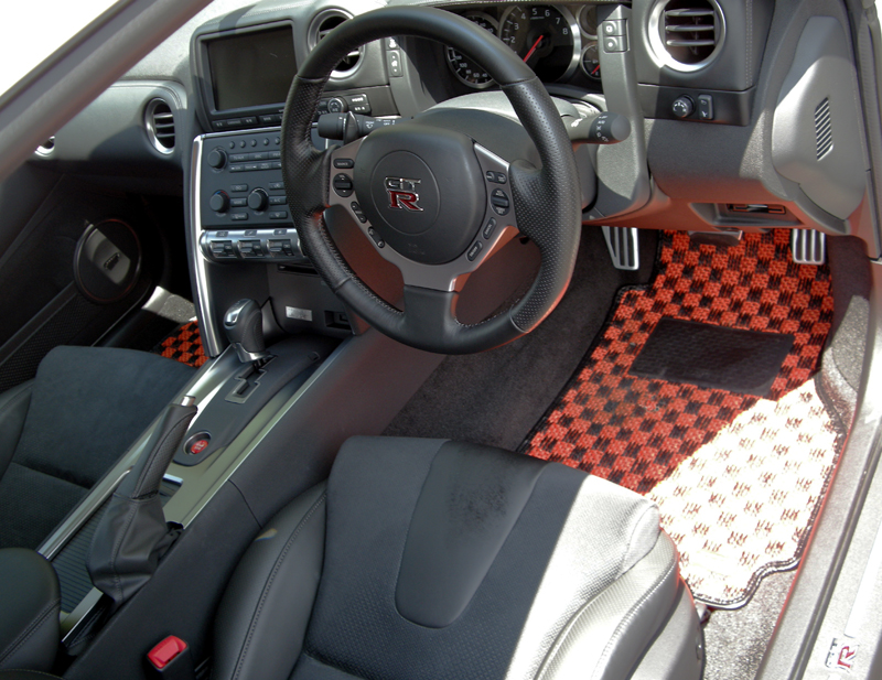 Are there any karo dealers state side forums for 180sx floor mats